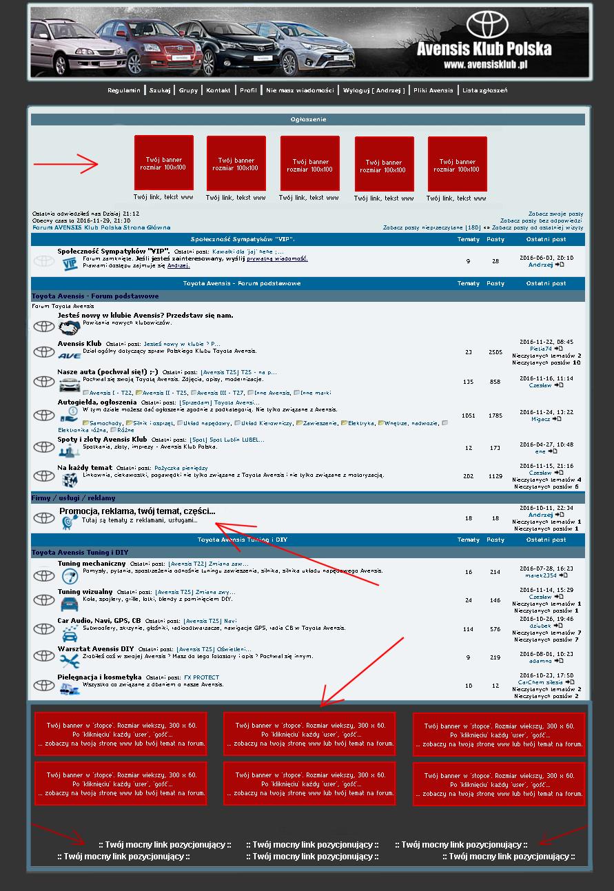 kliknij aby wejśc do forum Avensis